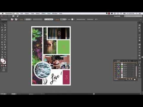 How to Create a Mood Board in Adobe Illustrator