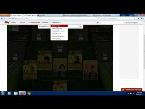 Fifa 13 l Squad Builder l Cheap And Good