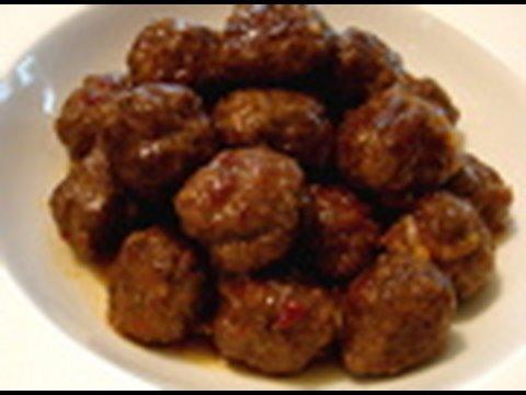 Super Bowl Party Recipe: Spicy Orange Bison Balls