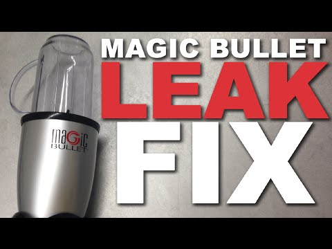 How to fix a leaking Magic Bullet blender