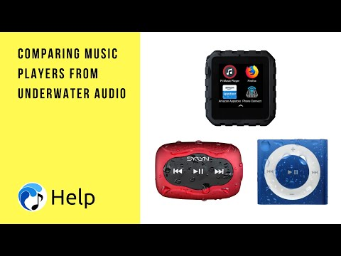 Comparing Waterproof Devices from Underwater Audio