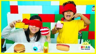 Download Guess the Squishy Toys challenge with Ryan and Mommy! Video