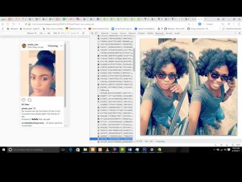 how to download pictures on instagram, facebook or any website