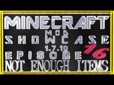 Minecraft Mod Showcase 1.7.10 :: Not Enough Items