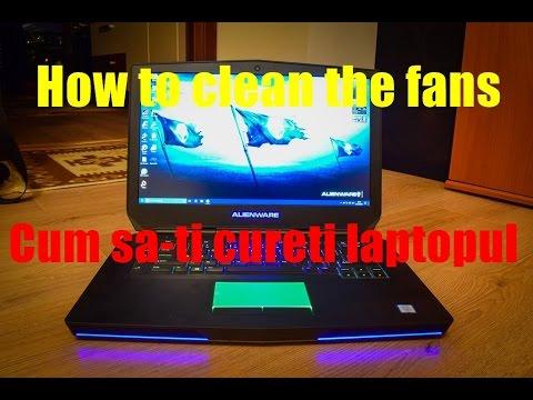 How To Clean Dell Alienware 15 R2 Laptop Fans Adventure