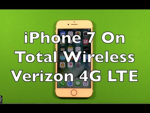 iPhone 7 On Total Wireless Verizon 4G LTE How To Setup