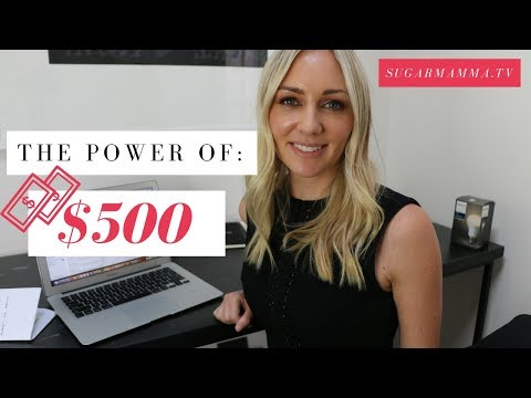 The Power of $500: Turn it into $6,211, $12,331, $39,000, $109,528