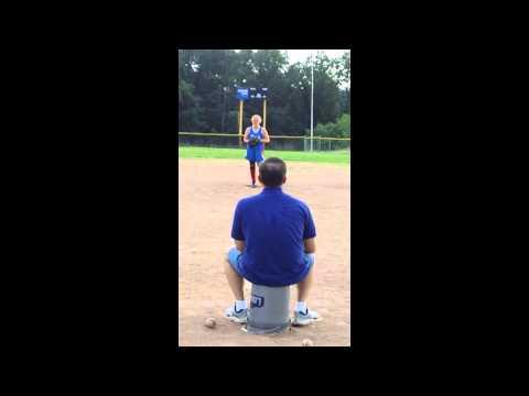 Katie Daniels 2011 riseball softball pitching