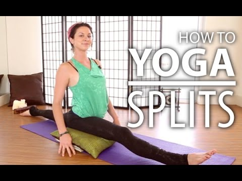Yoga For Beginners - Learning The Splits