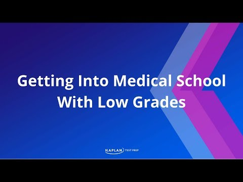 Overcoming Low Grades & Getting Into Med School