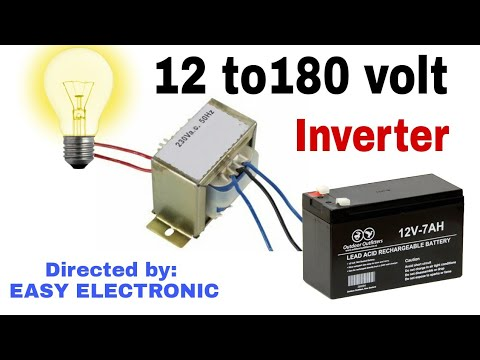 How to make inverter at home_on you tube