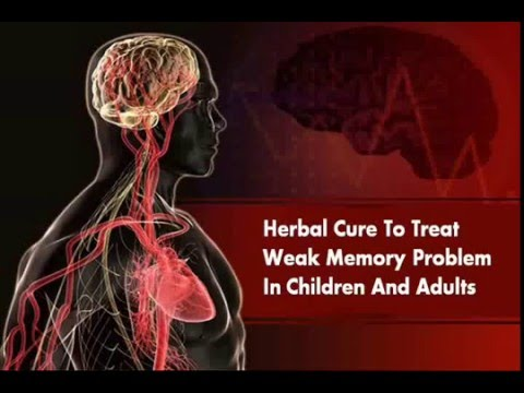Herbal Cure To Treat Weak Memory Problem In Children And Adults