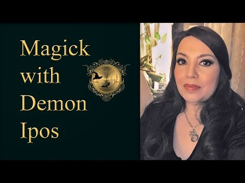 A self empowerment spell with Prince Ipos from Goetia