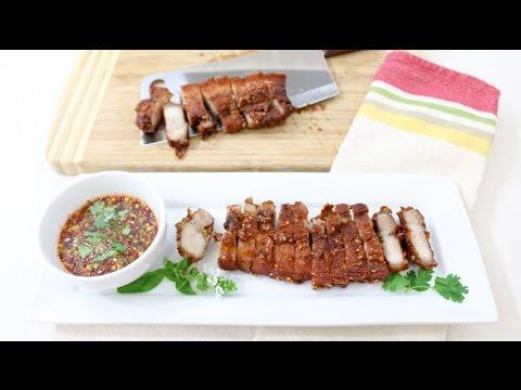 Thai Style Pork Belly หมูสามชั้นทอดน้ำปลา - Episode 121