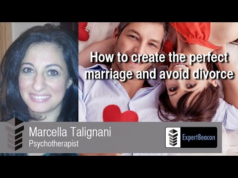 How to create the perfect marriage and avoid divorce