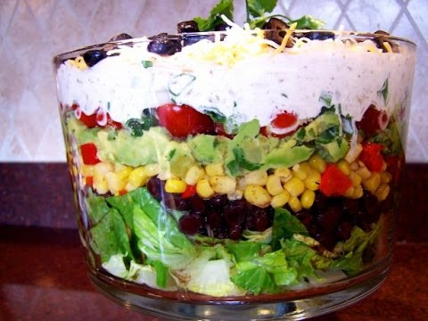 Seven Layer Salad | EASY TO LEARN | QUICK RECIPES