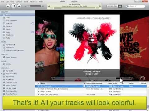 How to import Album Artwork to iTunes Music Tracks?