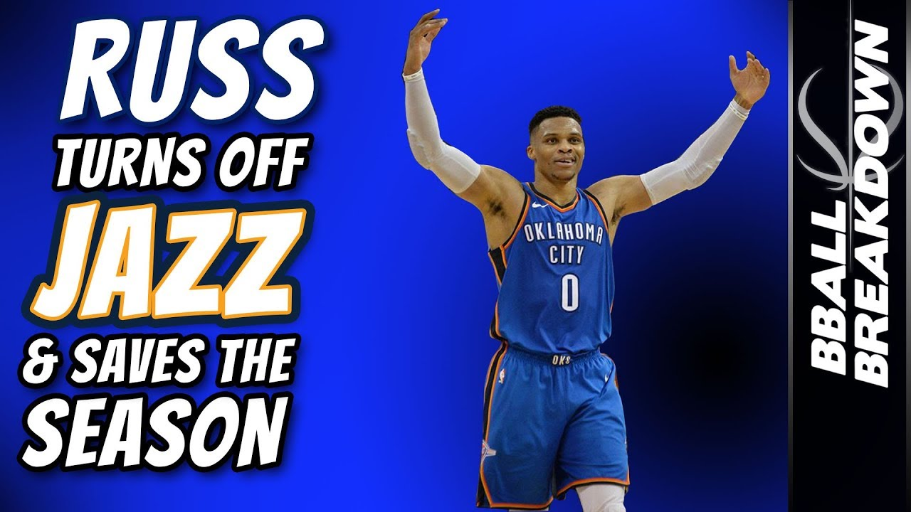 RUSS Turns Off JAZZ & Saves The Season in Game 5