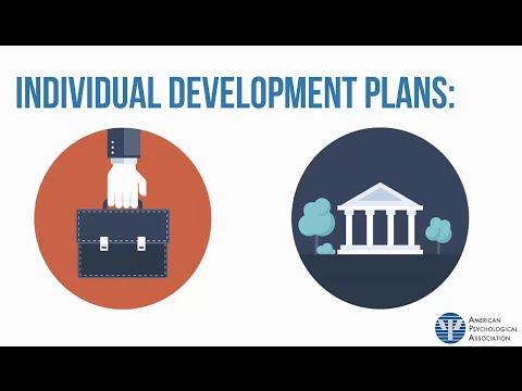 Introduction to APA's Individual Development Plan (IDP)