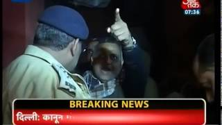 Don't cross your limit, Delhi police warns Somanth Bharti