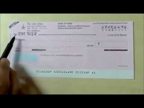 How-To video 1 - Seven Steps for filling a Cheque