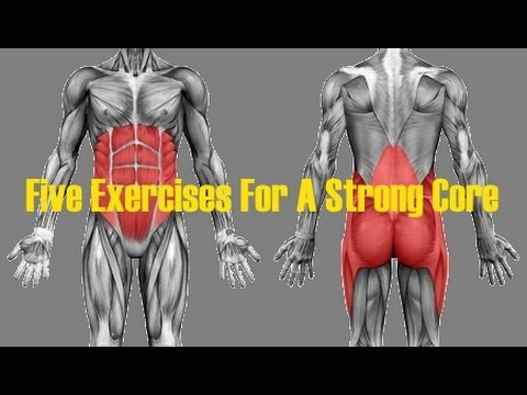 FIVE EXERCISES For A Strong Core