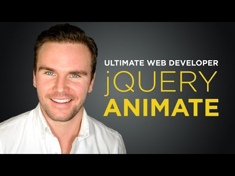 jQuery Animate [#9] Ultimate Web Developer Course (Free Tutorial)