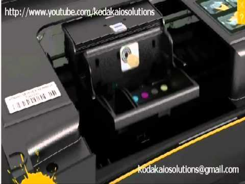 How to remove or install a printhead on KODAK printer?