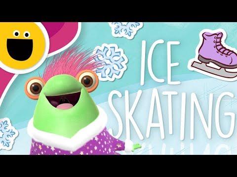 Marvie Goes Ice Skating (Sesame Studios)