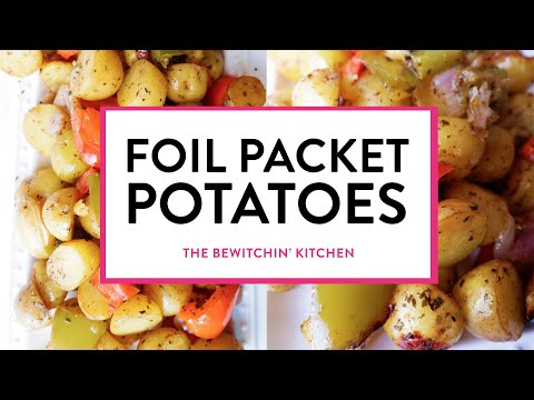 Foil Packet Potatoes Recipe - super easy way to grill potatoes!