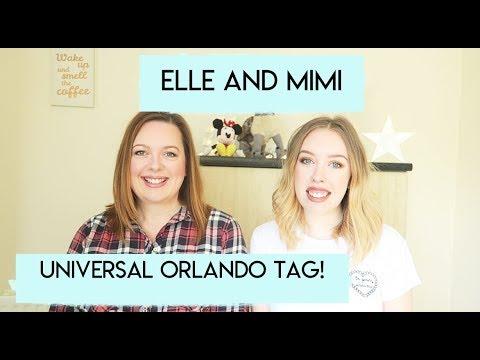 Universal Orlando Tag! | Elle & Mimi Florida!