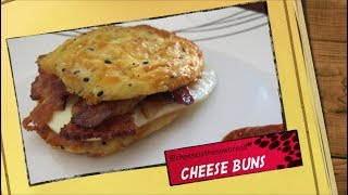 CHEESE BUNS - 3 INGREDIENTS ONLY (recipe by @cheeseisthenewbread)