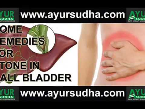 Gall bladder Stone - Home Remedies by  AYUR SUDHA - Super Speciality  Ayurveda