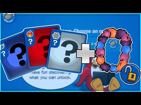 Club Penguin Rewritten - Codes for Card Jitsu Cards + Sunset Lei!