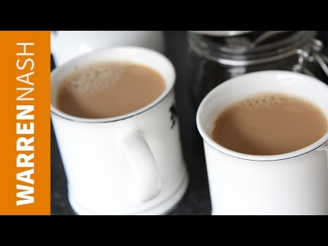 How to make the perfect Cup of Tea with Milk - Recipes by Warren Nash