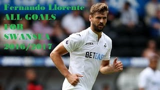 Fernando Llorente All Goals for Swansea Welcome to Chelsea