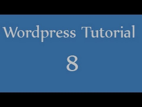 Wordpress tutorials for beginners - 8 - comments in wordpress