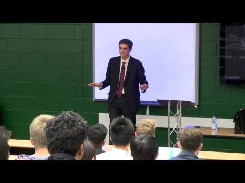 The three words to remember to help you land your dream job from Essex graduate Loukas
