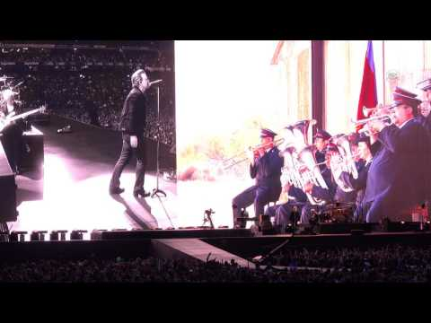 """U2 """"Red Hill Mining Town"""" The Joshua Tree Tour Live from Dublin (4K)"""