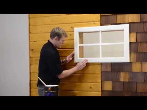 How To Stain Siding Or Shingles Easily - Environmentally Friendly - Sansin