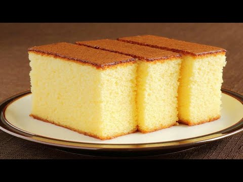Basic Sponge Cake | Very Soft & Smooth Cake | GaparChapar.Com