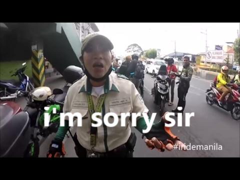 POLICE  CONTROL : IT'S OK YOU DOING YOUR JOB   😬🔫 #IRIDEMANILA