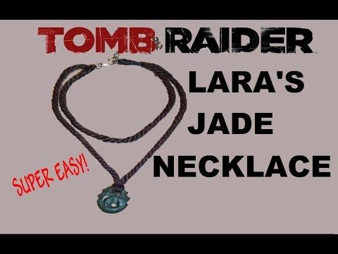 Lara Croft Tomb Raider 2013 Jade pendant / necklace tutorial