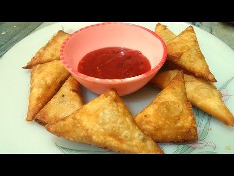 Chicken & Potato Samosa Recipe | How To Make Chicken Samosa | Ramadan Recipes | Jairy's Cook Book