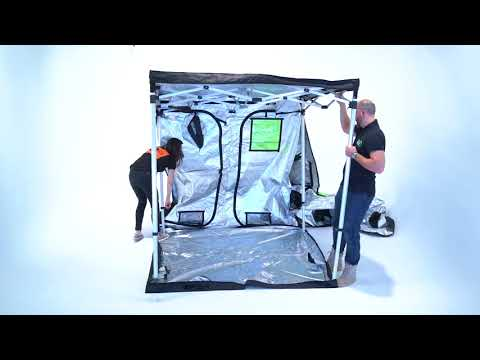 Watch the GAME CHANGING Quick-Qube Grow Tent Pop-Up!