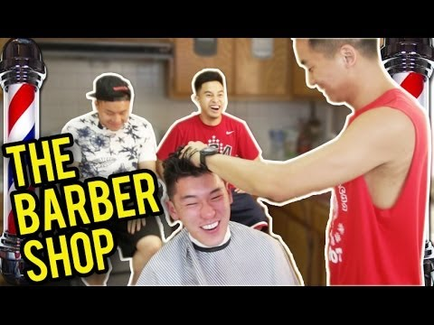 THE ASIAN BARBERSHOP (Hairstyles for Asian Men)
