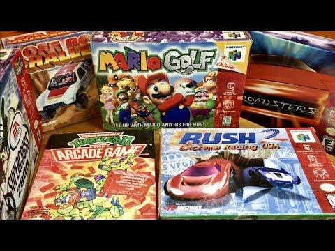 COMPLETE N64 COLLECTION! Registration Cards, Original Bags, MINT BUNDLE, Mario, TMNT! #20