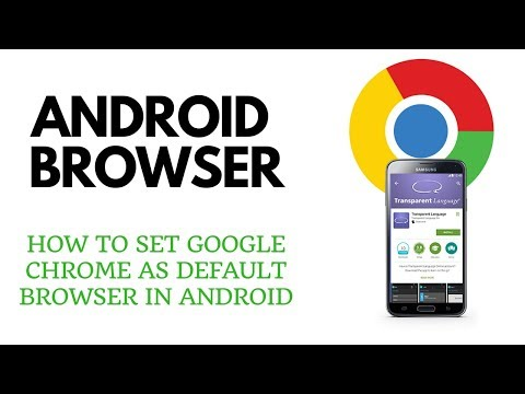 How to Set Google Chrome as Default Browser on Android- Tech Geeks