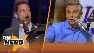 Chris Broussard on fans defacing another LeBron mural in L.A., Lakers additions | NBA | THE HERD