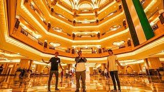 4 BILLION DOLLAR HOTEL MADE OF GOLD!